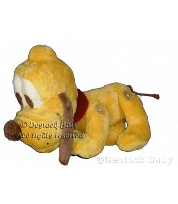 Peluche doudou PLUTO Disney Nicotoy Articule Boutons 28 cm 587/1476