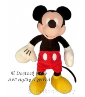 Doudou peluche MICKEY Short rouge DISNEY H 35 cm