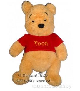 Peluche doudou Winnie l'Ourson The Pooh Plush 28 cm Exclusive Disney store Longs poils