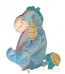 Doudou peluche Sac Range Pyjama BOURRIQUET Disney Baby H 45 cm