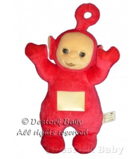 Peluche doudou TELETUBBIES rouge PO Lumineux Sonore TOMY Licence BBC H 42cm