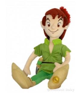 Peluche doudou PETER PAN Atuhentique Disney Store 60 cm Walt Disney