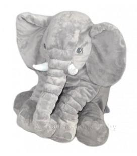 Grande peluche géante éléphant gris Kapplar IKEA 60 cm 23,5