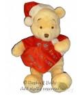 Doudou peluche WINNIE The Pooh Plush My First Christmas H 40 cm Disney Store