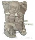 Peluche doudou Elephant Gris Kapplar Elefant IKEA 30 cm et son bébé