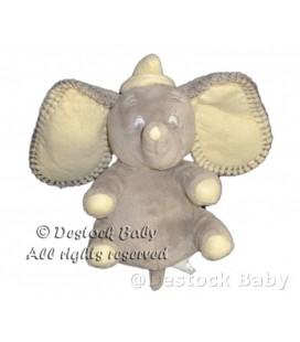 Peluche doudou Elephant gris DUMBO Disney Nicotoy H 16 cm 587/8236