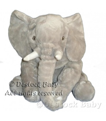 Peluche doudou ELEPHANT Kapplar Gris IKEA 30 cm