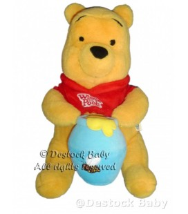 NEUF ETIQ. Peluche WINNIE L'OURSON Pot de miel Disney H 25 cm 587/1430