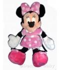 Doudou peluche MINNIE robe rose pois Disneyland Disney Store London H 36 cm
