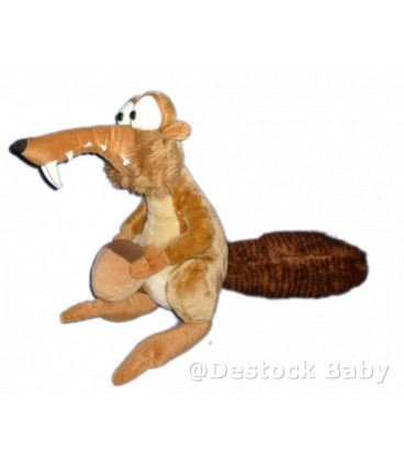 Peluche SCRAT Age de Glace 2 Ice Age 2 50 cm Play By play