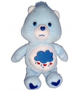 Doudou peluche BISOUNOURS bleu nuage CARE BEARS 22cm Grognon Grognours Grumpy Bear JEMINI