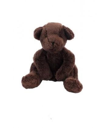 Doudou peluche ours marron Brun DPAM Du Pareil au Meme 20 cm