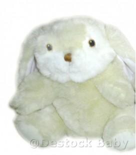 Peluche marionnette Lapin blanc écru crême IKEA Titta 25 cm