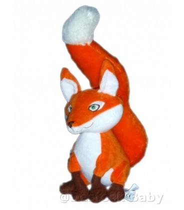 Doudou peluche RENaRD orange Le Petit Prince H 30 cm