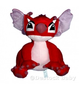 Peluche LEROY de LILO ET STITCH Authentique Disneyland Disney H 30 cm