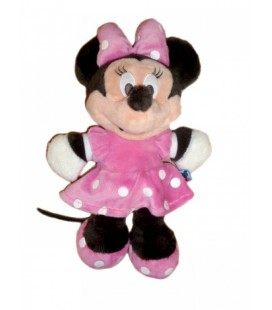 Peluche doudou MINNIE Disney Club Nicotoy 30 cm