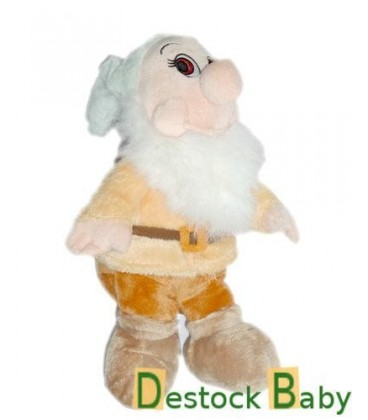 Peluche doudou Nain Timide Bashful Blanche Neige et les 7 nains Disney Nicotoy