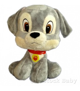Doudou Peluche Pet Shop H 50 cm Clochard le chien La Belle et le Clochard Disney Nicotoy