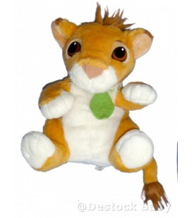Peluche parlante LE ROI Lion Doudou qui parle Talking Lion Plush 30 cm MATTEL Authentic Disney