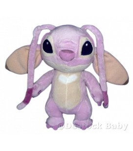 Doudou peluche Angel LILO ET STITCH 22cm Disney Disneyland Paris