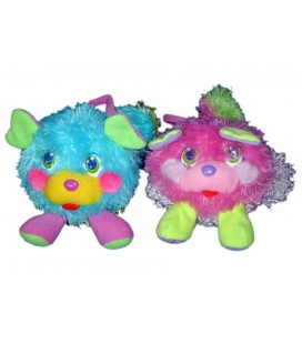 Peluche POPPLES Fruit 2007 H 15 cm LOT de 2