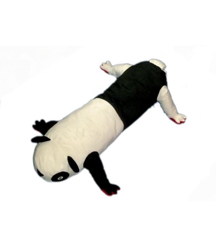 peluche doudou ikea panda noir et blanc chenille l 80 cm barnslig park. Black Bedroom Furniture Sets. Home Design Ideas