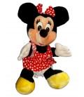 VINTAGE Peluche MINNIE Euro Disney H 32 cm assis