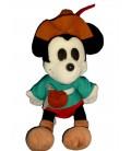 VINTAGE Peluche MICKEY Robin des Bois Disneyland Euro Disney H 36 cm