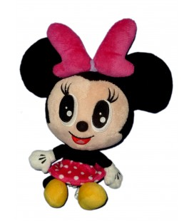 Doudou Peluche Minnie bebe grosse tete authentique Disney Disneyland Paris 28 cm