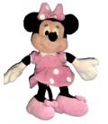 Doudou Peluche MINNIE Disney Club Nicotoy Robe rose pois blancs H 28 cm