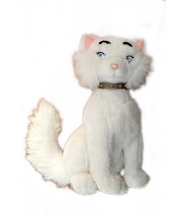 Peluche doudou chat DUCHESSE Les Aristochats - 35 cm - Disneyland Resort Paris