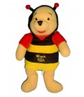 Doudou peluche WINNIE L'OURSON The pooh Plush bear Bee Déguisé abeille H 24 cm Disney