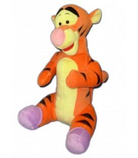Doudou Peluche TIGROU Pieds chaussons mauves 32 cm Disney Nicotoy PTS SRL