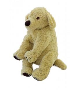 Doudou peluche chien beige Ikea Gosig Golden Retriever 40 cm