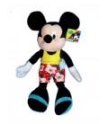Doudou peluche MICKEY Mouse à la Plage Beach - Disney Club Housse Play by Play H 40 cm