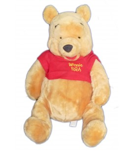 GRANDE PELUCHE XXL WINNIE L'OURSON EXTRA LARGE PLUS THE POOH H 50/65 CM DISNEY
