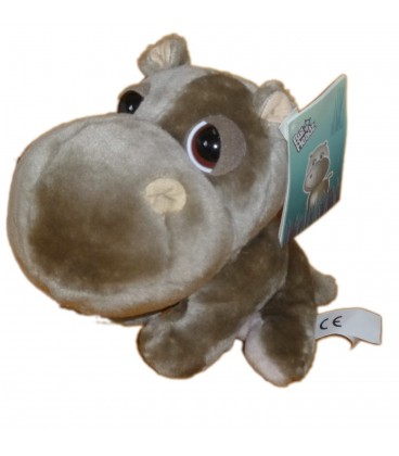 PELUCHE DOUDOU ELEPHANT GRIS BIG HEADZ