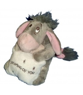 Doudou peluche BOURRIQUET gris Disneyland Paris Dreaming of You 15 cm