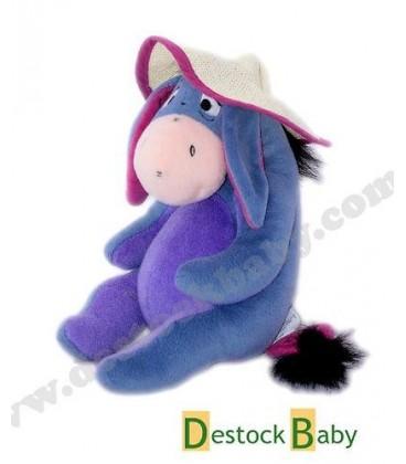 Doudou peluche Bourriquet Chapeau de paille 26 cm Disney Nicotoy 587/4347
