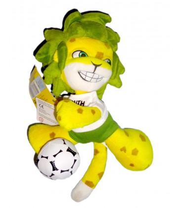 Peluche publicitaire Figurine COUPE DU MONDE 2010 Mascotte Officielle FIFA South Africa
