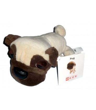 Peluche Doudou CHIEN Pug The Dog Project L 26 cm