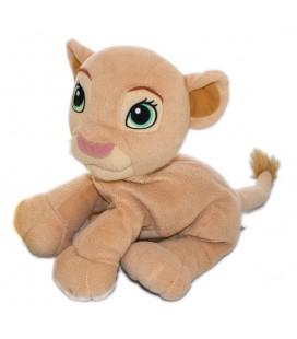 Doudou peluche LE ROI LION - Nala - Gros grelot à l'intérieur 24 cm Disney Hasbro 2002