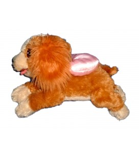 Peluche CHIEN Lady LA BELLE ET LE CLOCHARD L 32 cm Authentique Disney