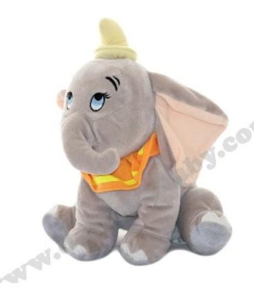 Doudou peluche Dumbo l'Elephant Disney Nicotoy 28 cm