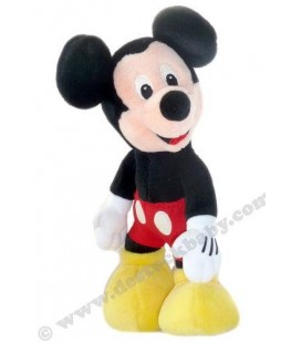 Peluche doudou MICKEY Authentique Disneyland Paris - 38 cm