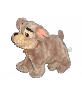 Doudou peluche CHIEN LA BELLE ET LE CLOCHARD Lady and the Tramp Plus H 25 cm Disney Nicotoy