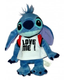 Peluche doudou LILO & STITCH Plush Love Me ! H 20 cm Disneyland Resort Paris Authentique Disney