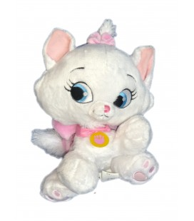 Peluche CHAT Chaton Marie Les Aristochats Pet Shop Disney Nicotoy 25 cm