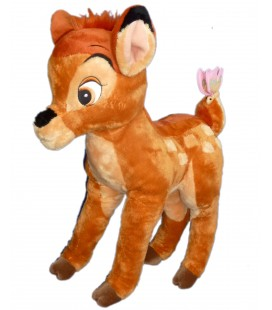 Peluche Articulée ou semi-rigide BAMBI Plush Disneyland Resort Paris DN0408 Papillon Authentique Boutique Disney