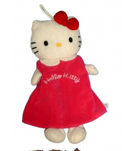 Peluche doudou Range Pyjama Bouillotte HELLO Kitty H 40 cm Sanrio Jemini Sanodiane